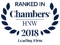 Chambers HNW Leading Firm 2018
