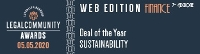 Deal of the Year SUSTAINABILITY Finance Awards Legalcommunity