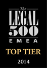 The Legal 500 EMEA Top Tier 2014